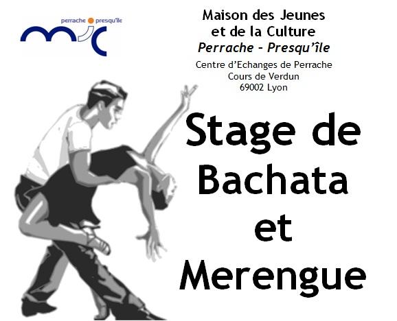 Stage de bachata et merengue lyon cours danse for Cours de danse de salon lyon